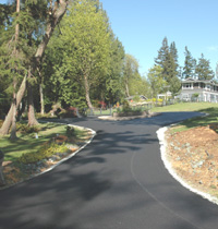 Island Asphalt paving in Clinton, Langley, Freeland, Coupeville, Oak Harbor.